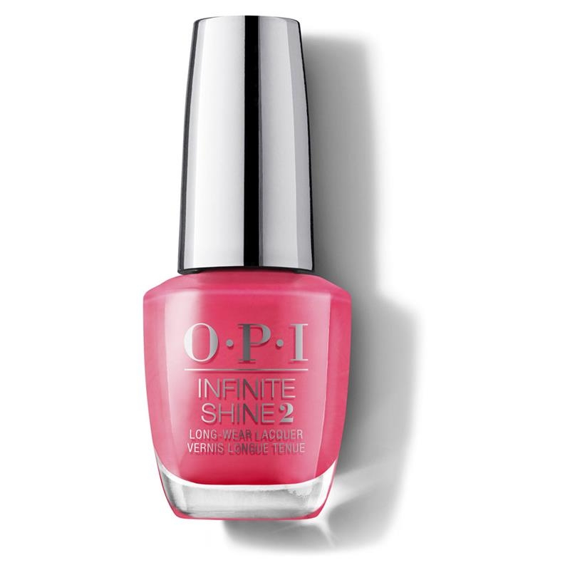 OPI Nail Lacquer Infinite Shine Strawberry Margarita Online Only