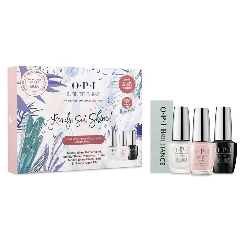 OPI Nails Gift Set Infinite Shine Featuring Sweet Heart