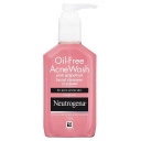 Sữa rửa mặt Neutrogena Oil Free Acne Wash Pink Grapefruit Facial Cleanser 175ml (dành cho da mụn)