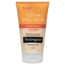 Sữa rửa mặt Neutrogena Oil-Free Daily Scrub Acne-Prone Skin 125mL