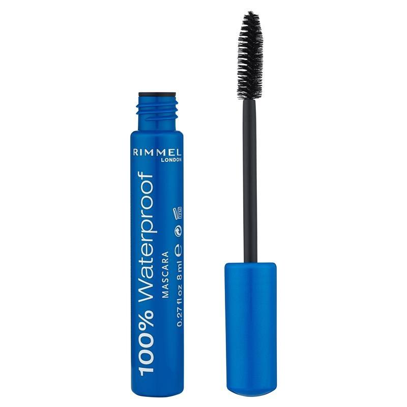 Rimmel 100% Waterproof Mascara 002 Brown/Black