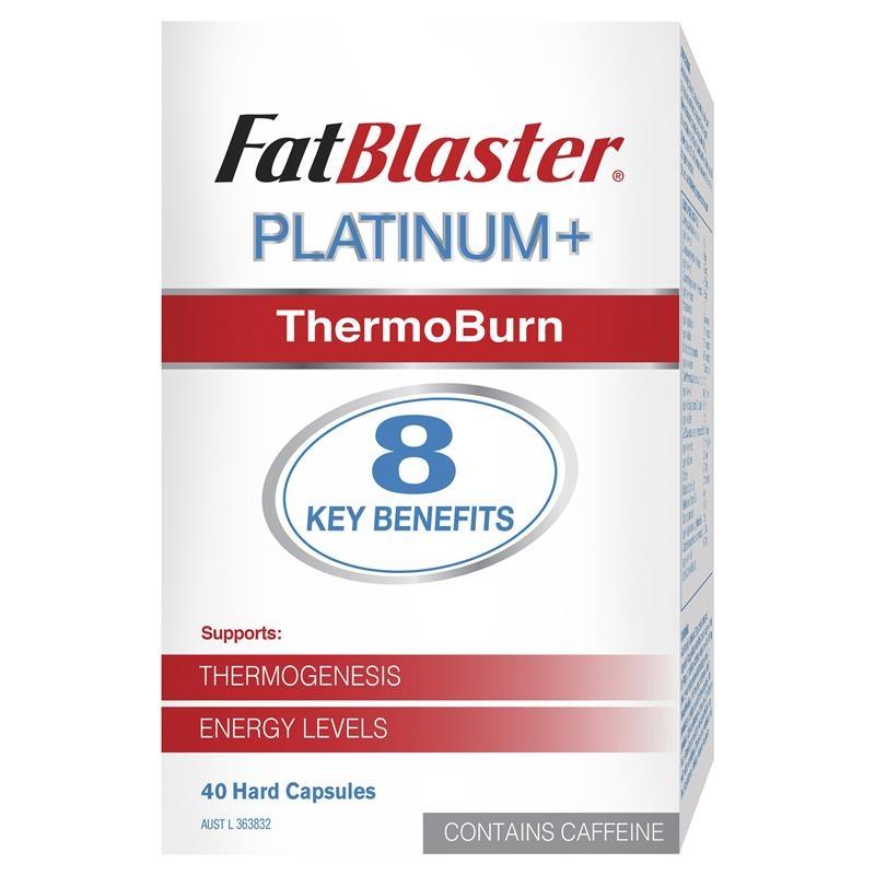 Naturopathica Fatblaster Platinum + ThermoBurn 40 Capsules