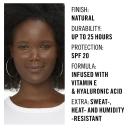 Rimmel Lasting Finish 25Hr Foundation 700 Ebony Online Only