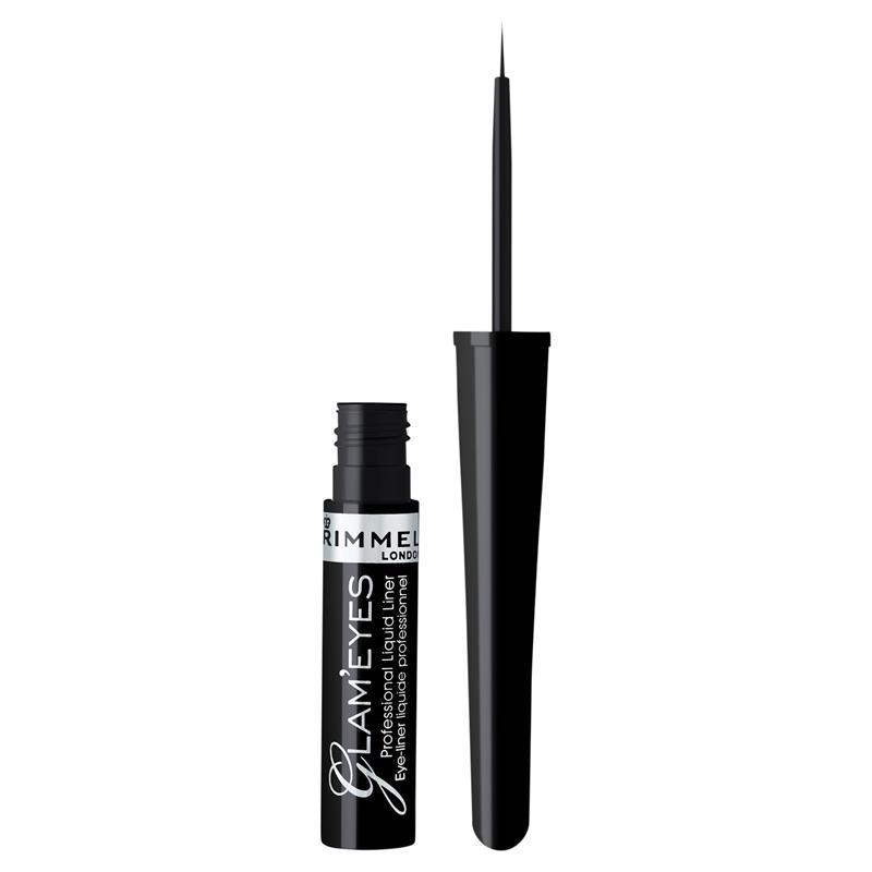 Rimmel Glam Eyes Professional Liquid Eyeliner Black