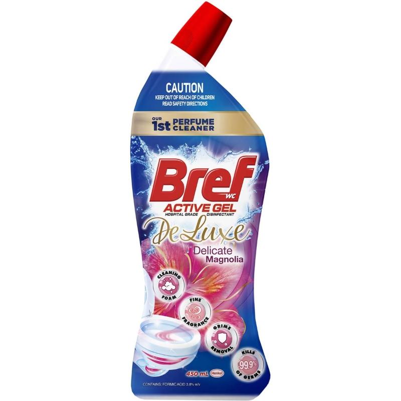 Bref Deluxe Toilet Cleaner Liquid Delicate Magnolia 450ml