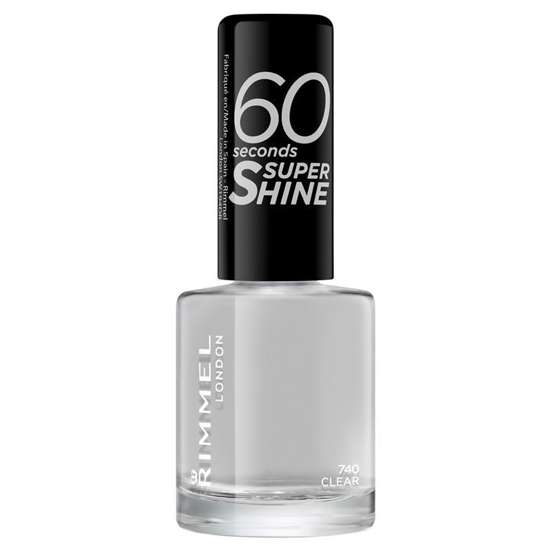 Rimmel 60 Seconds Nail Polish Clear