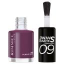 Rimmel 60 second Nail Polish 562 Purple Riot