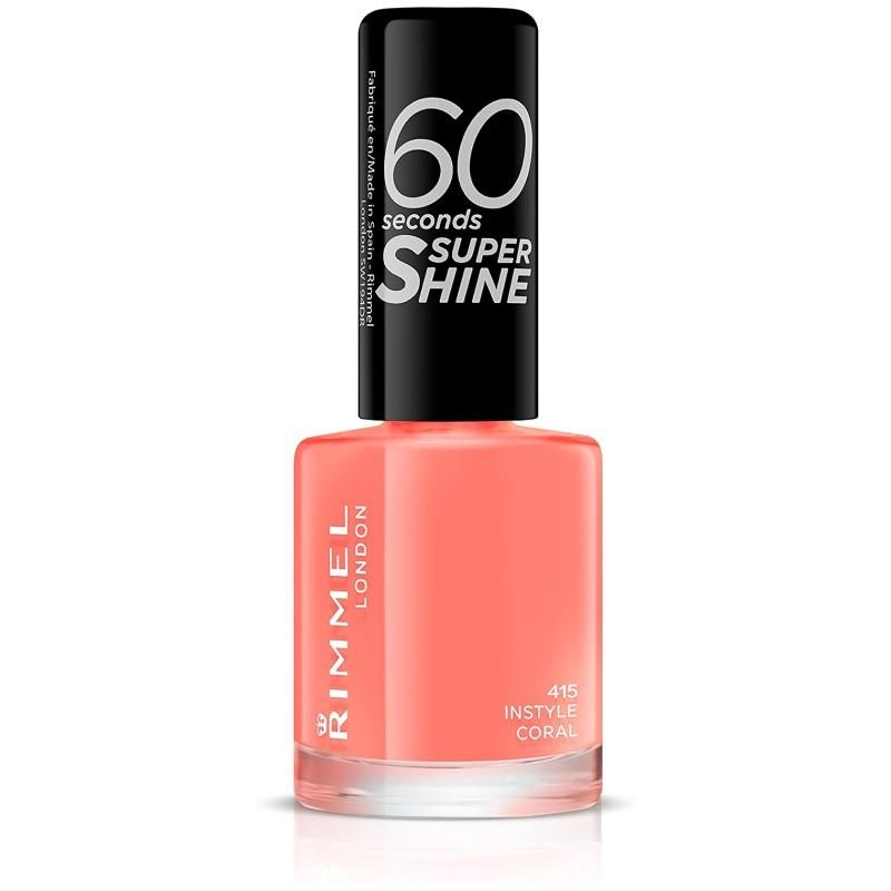Rimmel 60 Seconds Nail Polish Instyle Coral