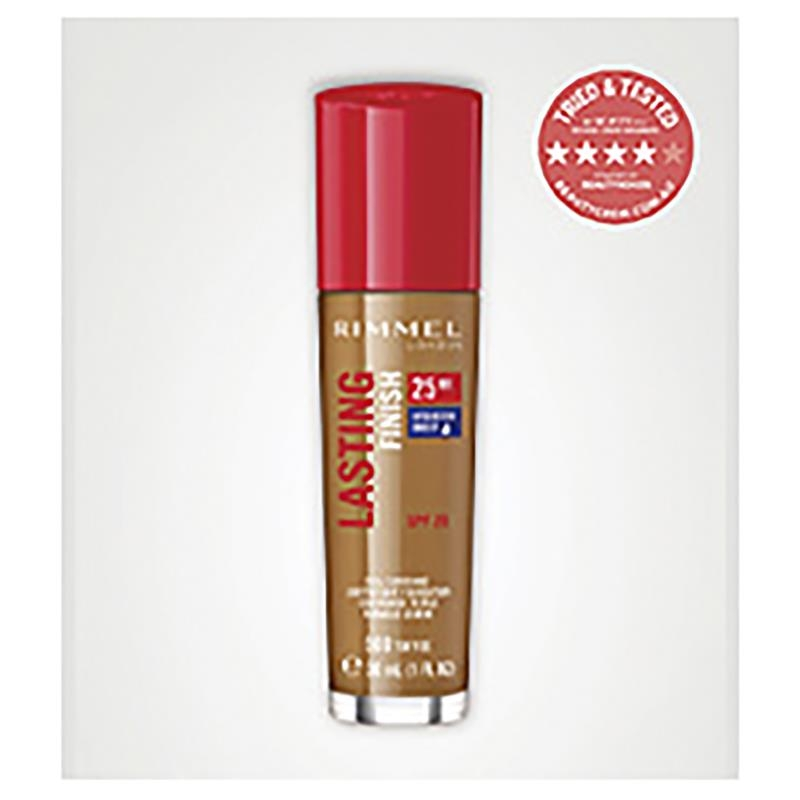 Rimmel Lasting Finish 25Hr Foundation 500 Toffee Online Only