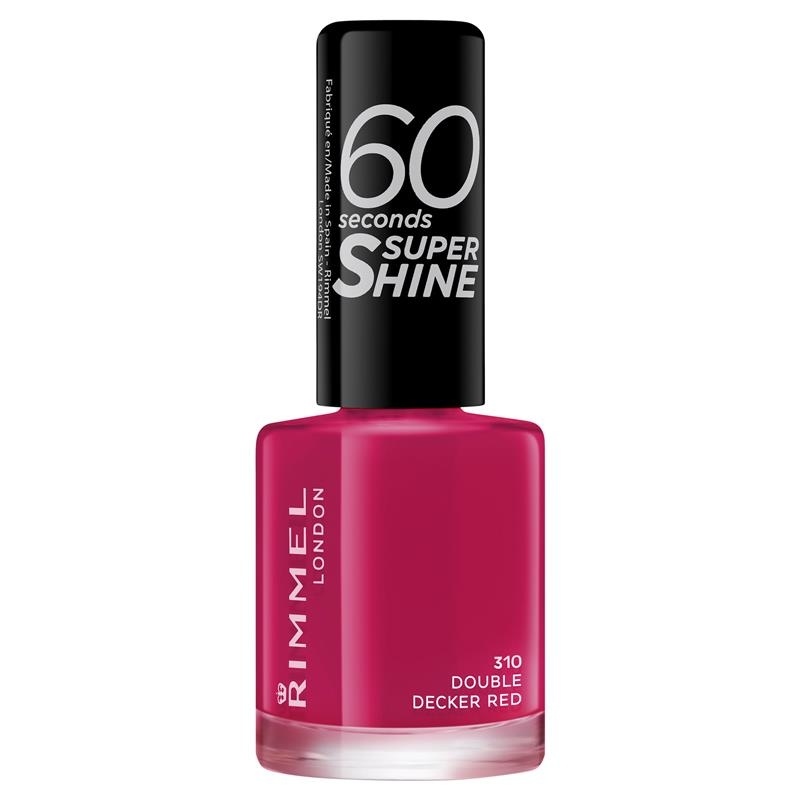 Rimmel 60 Seconds Nail Polish Double Decker Red