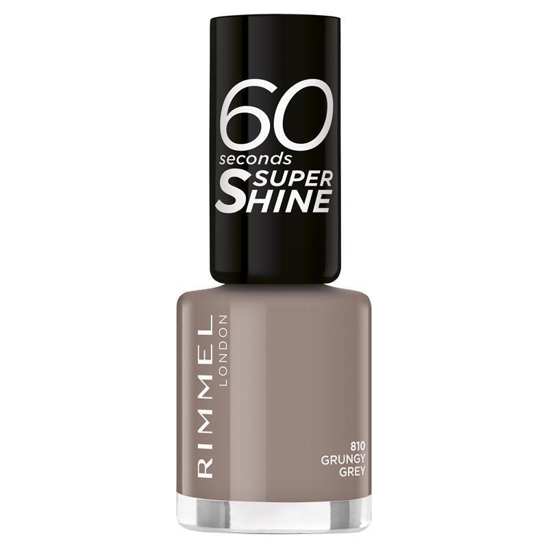 Rimmel 60 Second Nail Polish 810 Grunery Grey