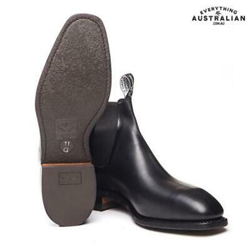 RM Williams Comfort Craftsman Boot Black