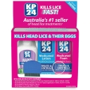 KP24 Foam Head Lice/Nit Lotion, Conditioning, Solution & Comb Value Pack