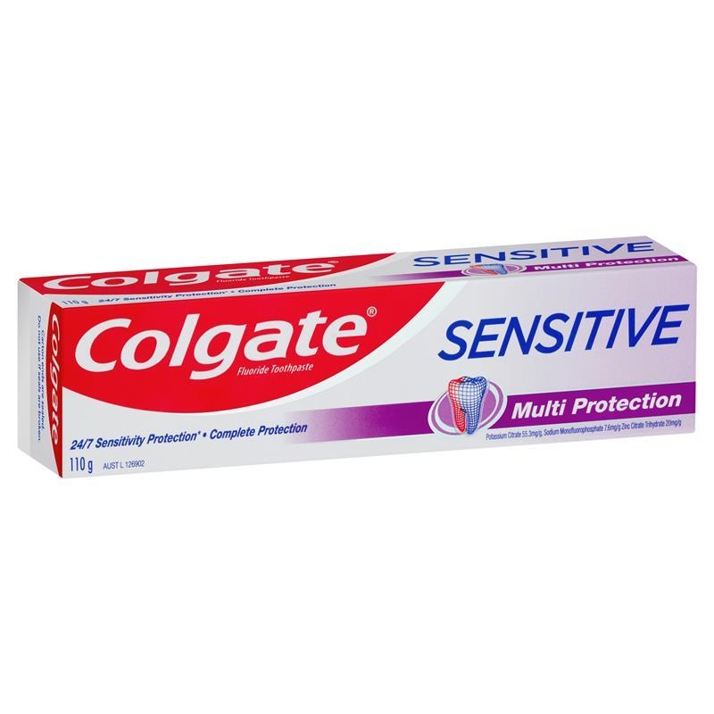 Colgate Sensitive Teeth Pain Multi Protection Fluoride Toothpaste 110g