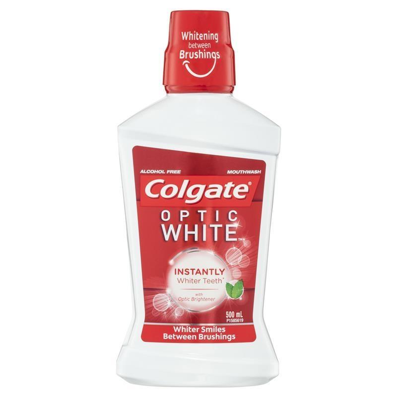 Colgate Optic White Mouth Rinse 500ml