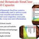 2 x 60 caps ORIENTAL BOTANICALS SinuClear 120 Capsules ( Sinus pain congestion )