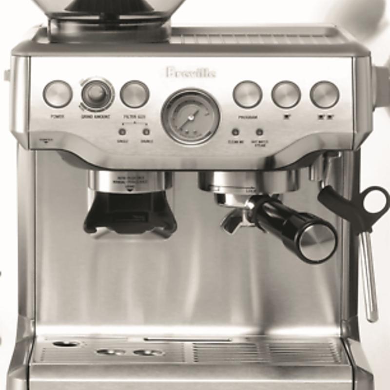 Máy pha cà phê - NEW Breville BES870BSS The Barista Express Coffee Machine