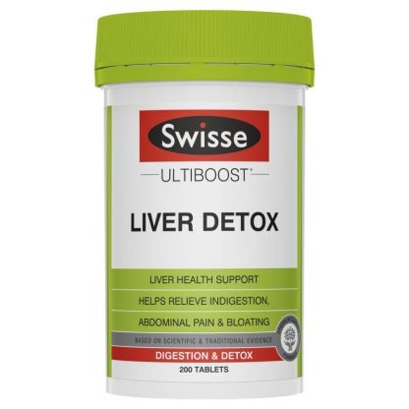Swisse Ultiboost Liver Detox 200 Tablets