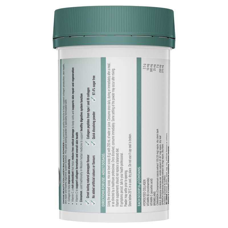 Swisse Beauty Collagen Balance 120g Powder
