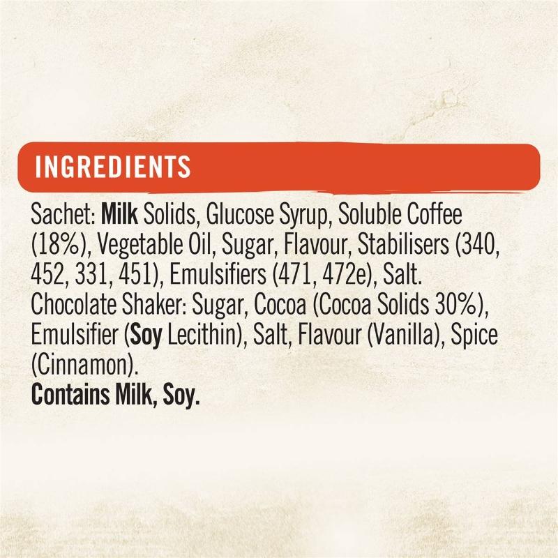 Nescafe Coffee Mixer Sachets Cappuccino 10 pack