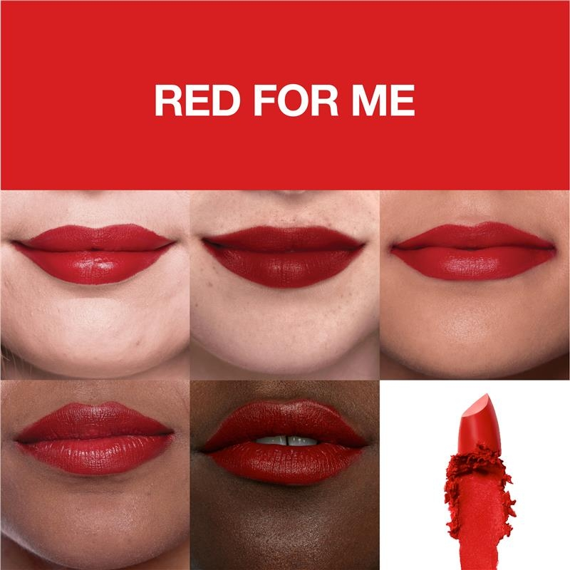 Maybelline Color Sensational Made For All Matte Lipstick Red For Me