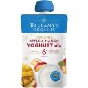 Bellamys Apple & Mango Yoghurt with DHA 120g