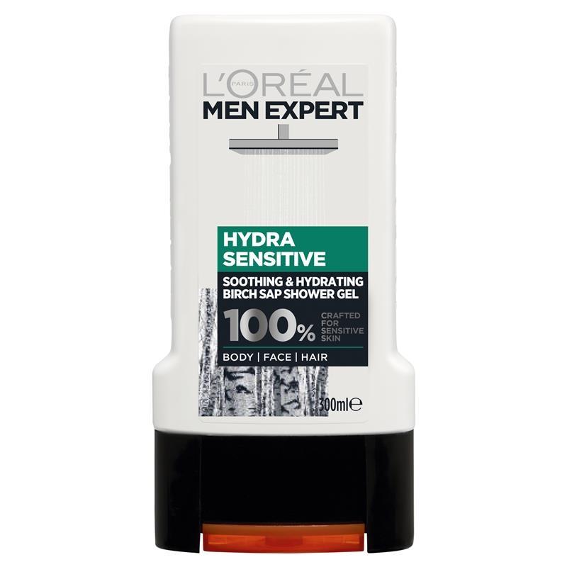 L'Oreal Men Expert Shower Gel Hydra Sensitive 300ml