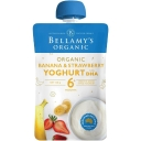 Bellamys Banana & Strawberry Yoghurt with DHA 120g