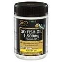 GO Healthy Fish Oil 1500mg Odourless 210 Capsules