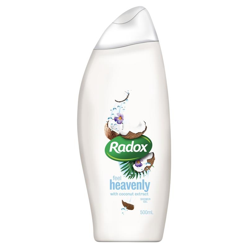 Radox Feel Heavenly with Coconut Extract Shower Gel 500ml
