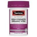 Swisse Organic Vitex 1500mg 60 Tablets
