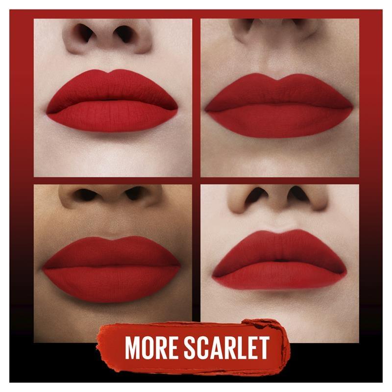 Maybelline Color Sensational Ulitmatte Lipstick More Scarlet 299