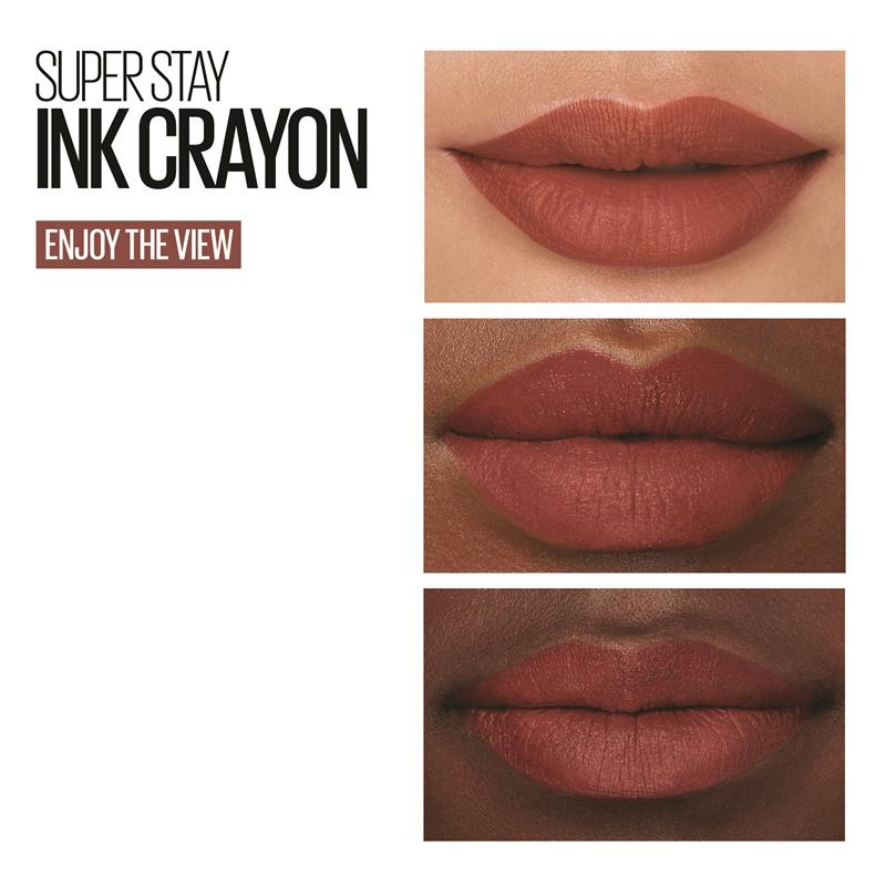 Maybelline Superstay Ink Crayon Lipstick Enjoy The View