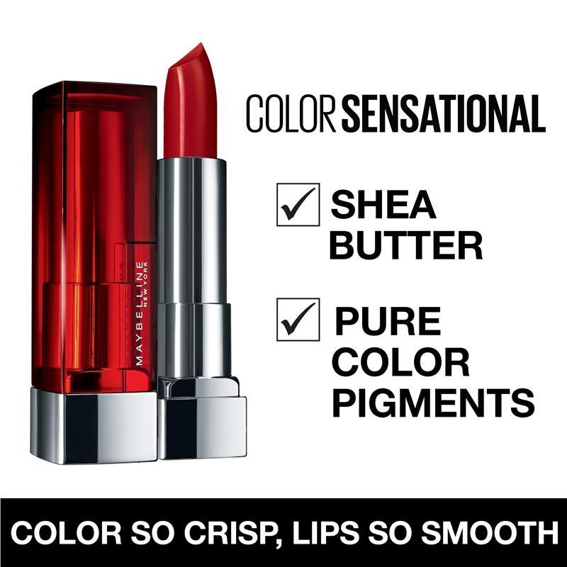 Maybelline Colour Sensational Lipstick Rosey Risk Online Only