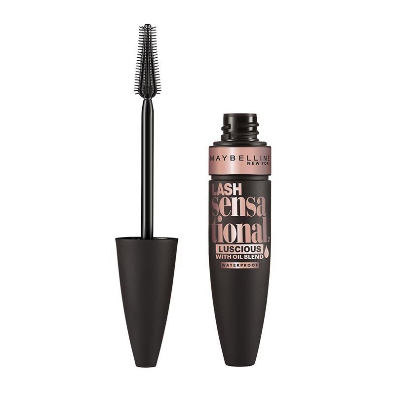 Maybelline Lash Sensational Luscious Lengthening Waterproof Mascara - Very Black