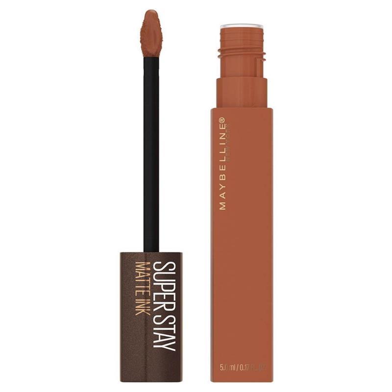 Maybelline Superstay Matte Ink Liquid Lipstick Starbucks Caramel Drizzle