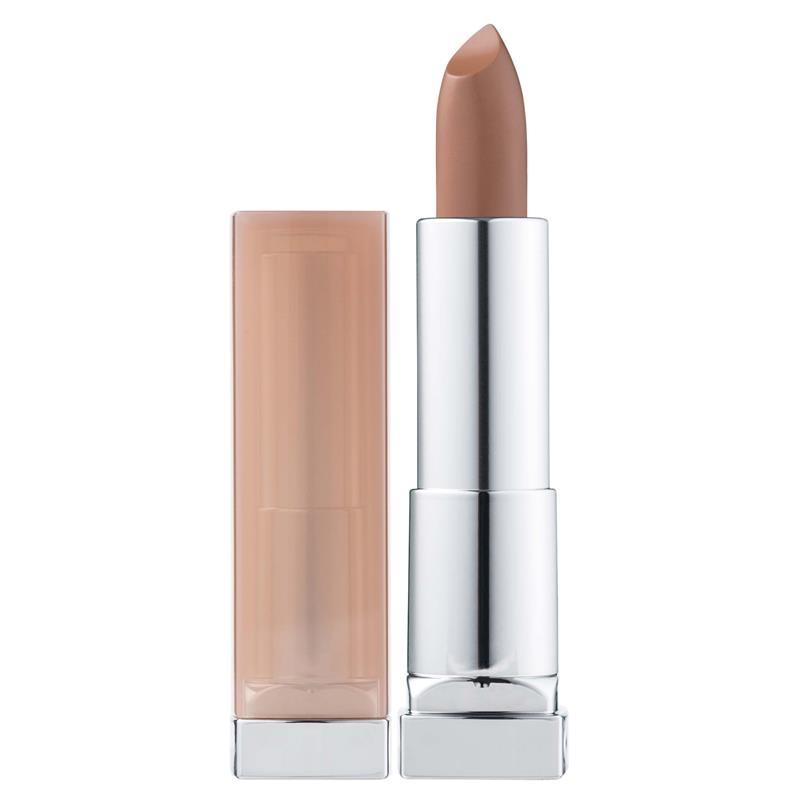 Maybelline Color Sensational Lipstick Stripped Nudes Honey Beige