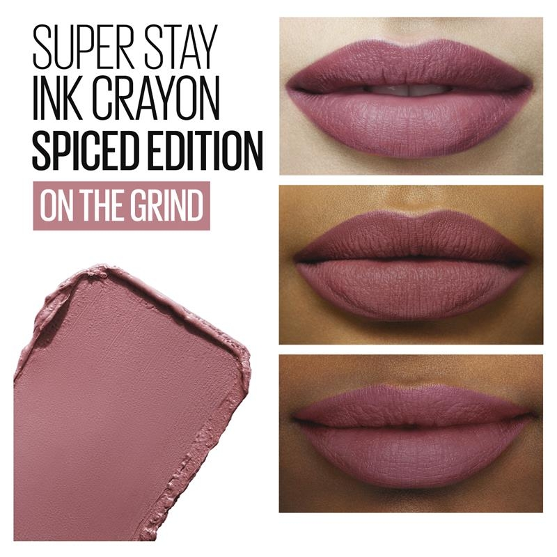 Maybelline Superstay Lip Ink Crayon Nudes On The Grind