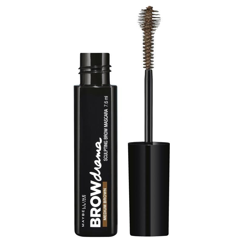Maybelline Eyestudio Master Sleek Brow Mascara Medium Brown