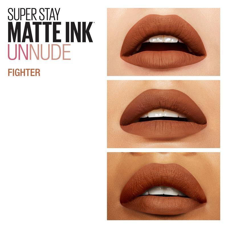 Maybelline Superstay Matte Ink Unnude Liquid Lipstick - Fighter 75