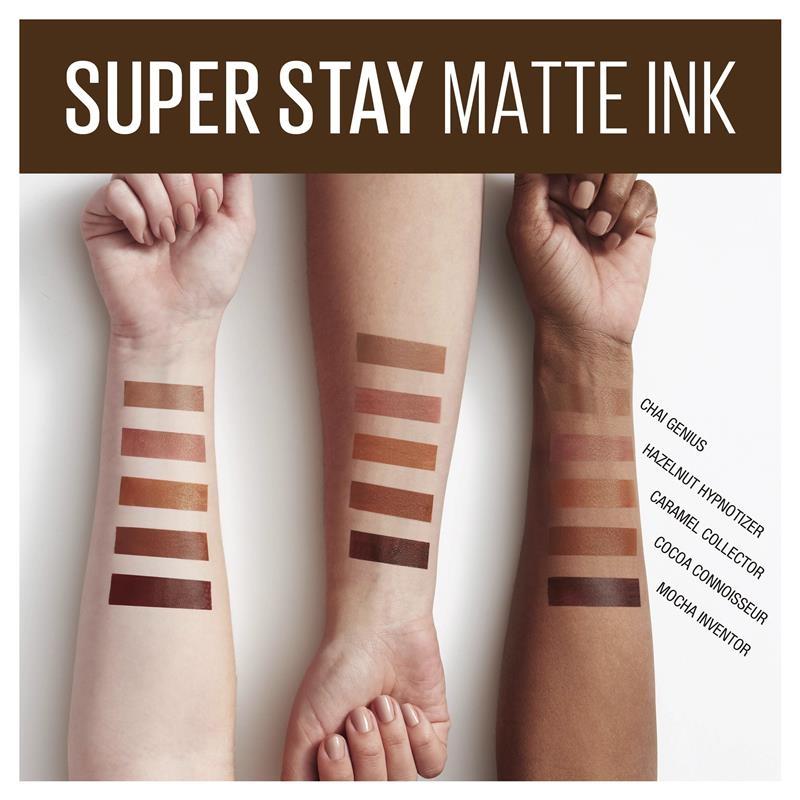Maybelline Superstay Matte Ink Liquid Lipstick Starbucks Hazelnut Latte