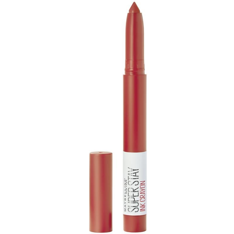 Maybelline Superstay Ink Crayon Lipstick Laugh Louder