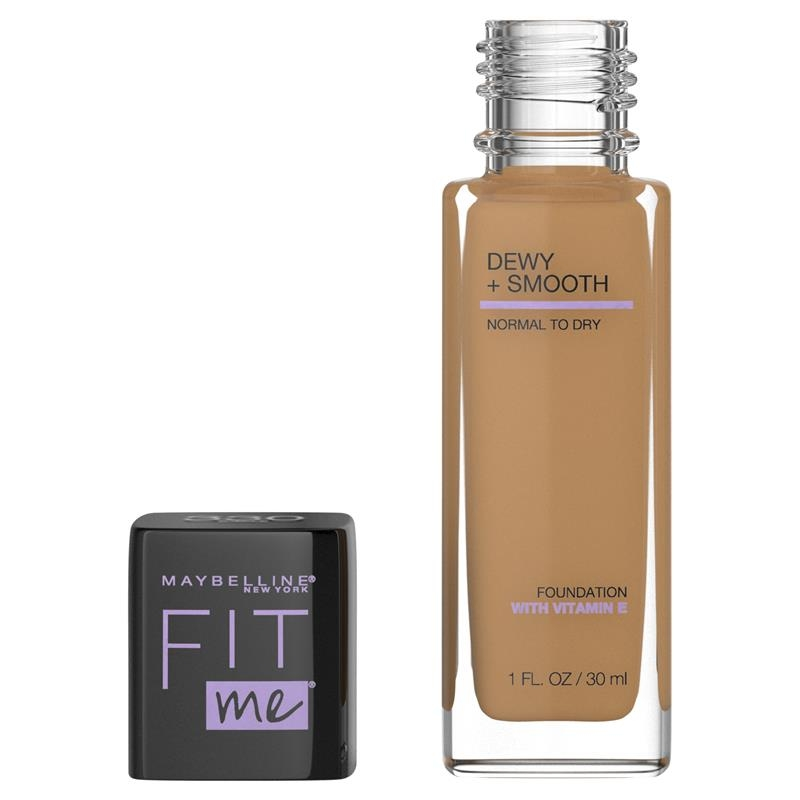 Maybelline Fit Me Dewy Smooth Foundation Toffee