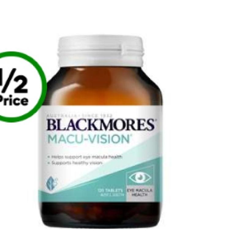 Blackmores Macu-vision Tablets 125 Pack