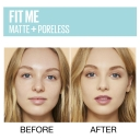 Maybelline Fit Me Matte & Poreless Mattifying Liquid Foundation - True Beige 222