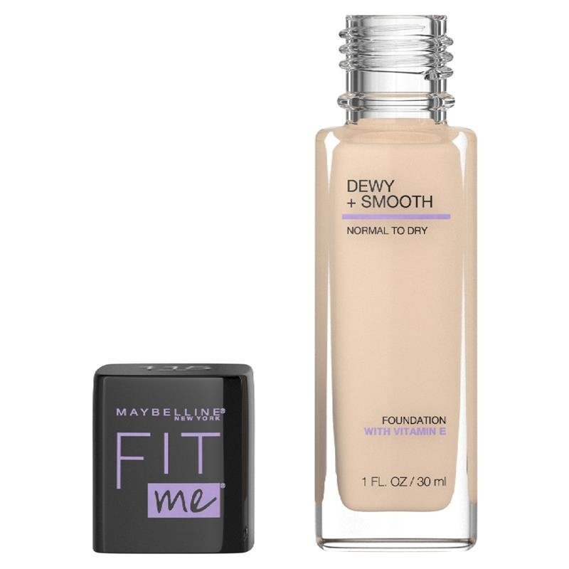 Maybelline Fit Me Dewy Smooth Foundation Ivory