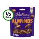 Cadbury Milk Chocolate Coated Almonds 120g