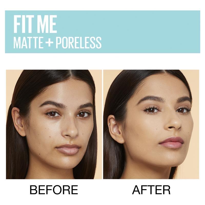 Maybelline Fit Me Matte & Poreless Mattifying Liquid Foundation - Natural Tan 320