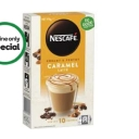 Nescafe Coffee Sachets Caramel Latte 10 Pack