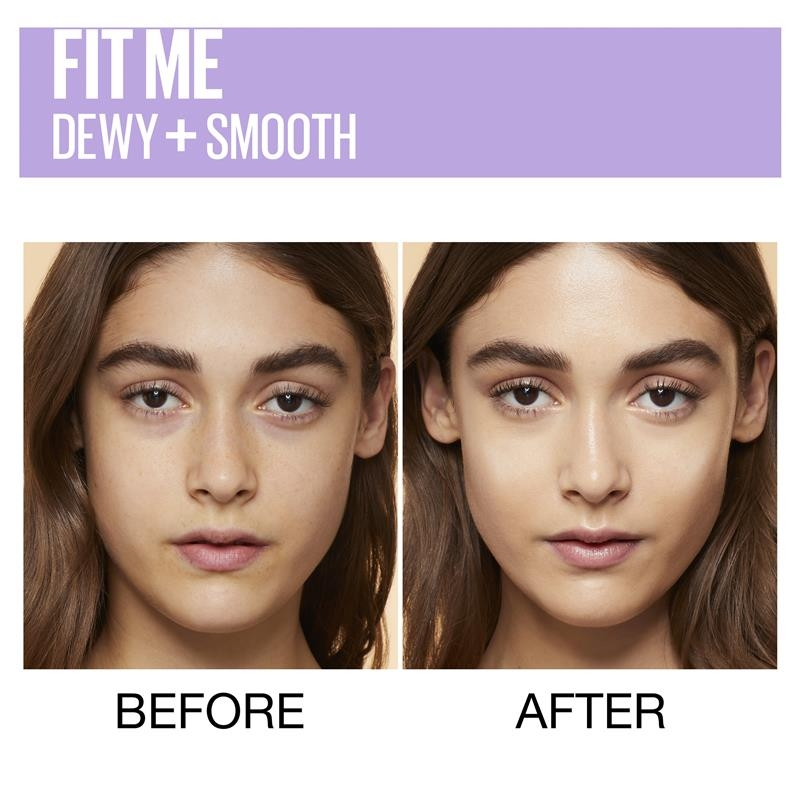 Maybelline Fit Me Dewy Smooth Foundation Natural Beige